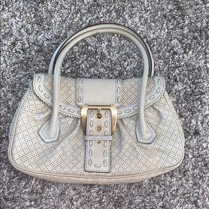 Cream color purse